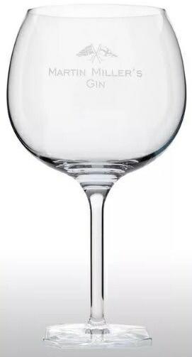 マーチンミラーズジンツヴィ-ゼル社製オリジナルロゴ入グラス