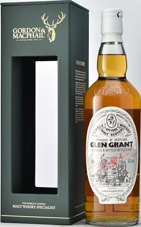 G&M(ゴードン&マクファイル) グレングラント 40年正規
