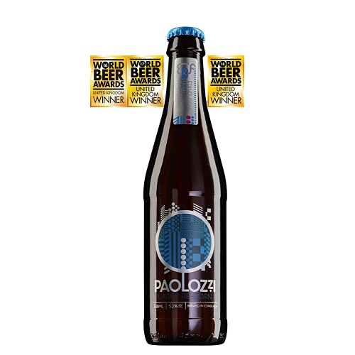 パオロッツィ・ラガーリボーン受賞多数 英国産麦芽100%ビール