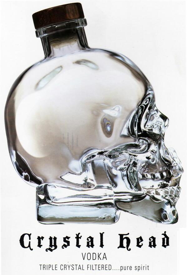 Kawachi Skull Skull Skull Crystal Head Vodka 1750 Ml 40