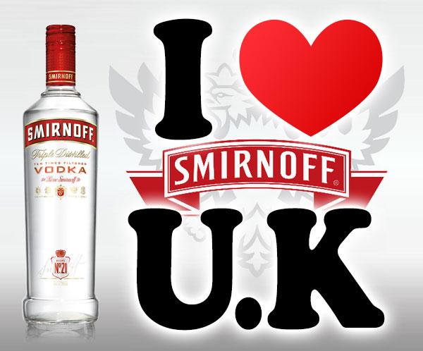 本場UKの他では手に入らないスミノフ