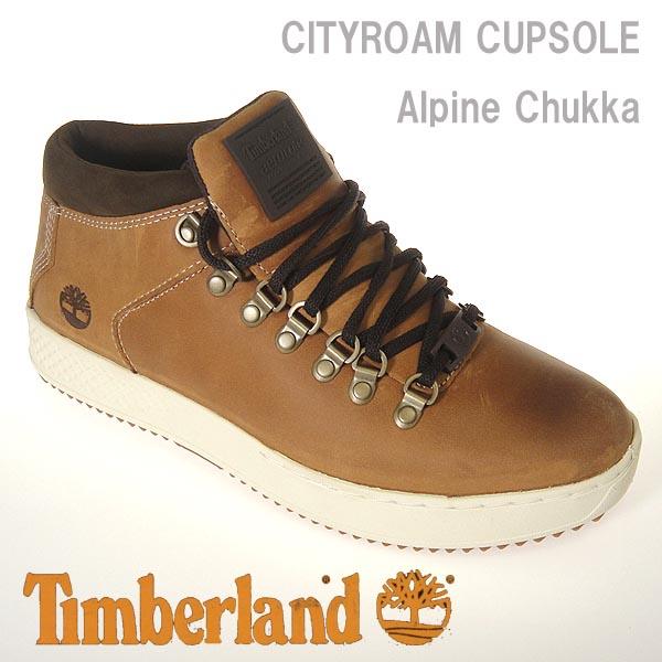 ティンバーランド メンズ スニーカー ブーツ CITYROAM CUPSOLE チャッカ ウィート フルグレイン A1S6B  Timberland Alpine chukka