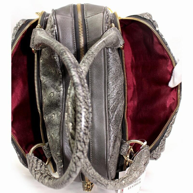 レディース オーストリッチ 2wayバッグ