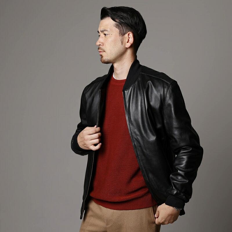 柔らかいジャケットです。