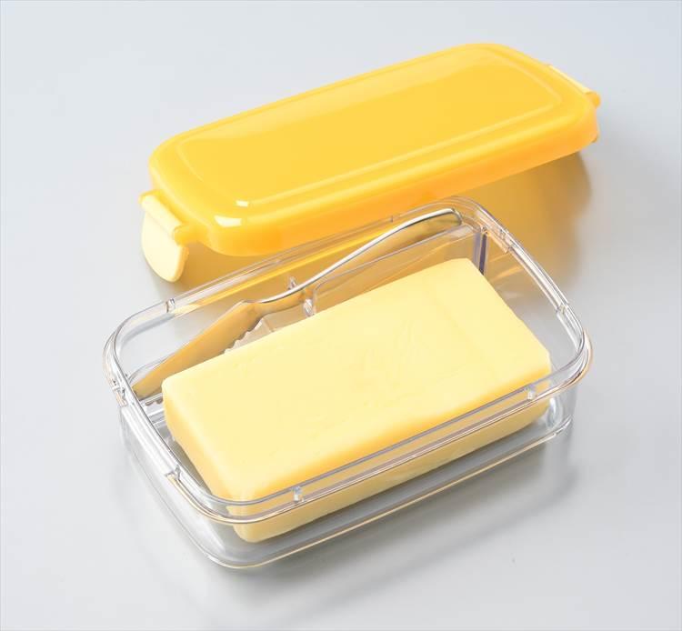 ふわふわバターナイフ付 密封バターケース