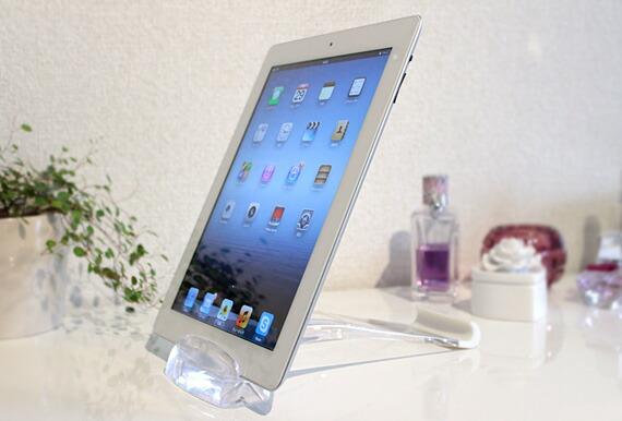 iPadスタンド 縦置きできます♪
