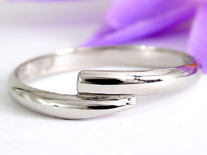 【送料無料・結婚指輪】ダイヤモンドペアリングプラチナ900 0.08ct☆2本セット☆指輪【工房直販】