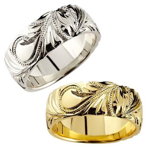 結婚指輪:ハワイアン:マリッジリングペアリング:プラチナ900:結婚指輪:PT900:結婚記念リング:送料無料:特別価格:工房直販