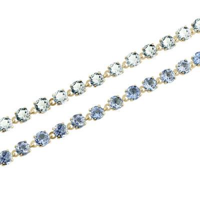 FB Jewels 14k White Gold 28x18mm Cross Pendant