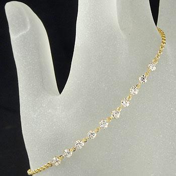 ダイヤモンド プラチナ ブレスレット