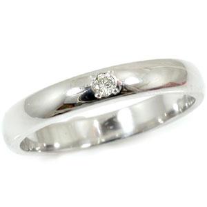 【工房直販】プラチナリング:ダイヤモンド:指輪:一粒ダイヤモンド:ダイヤモンド0.02ct:送料無料:特別価格