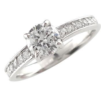 【送料無料】プラチナリング:指輪:ダイヤモンド:婚約指輪:結婚指輪:エタニティリング:SIクラス大粒ダイヤモンド:ダイヤモンド0.70ct:鑑定書付
