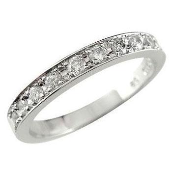 【送料無料】ピンキーリング:プラチナリング:指輪:ダイヤモンド:リング:スイートエタニティーリング0.20ct:小指にお守りとして:特別価格【工房直販】