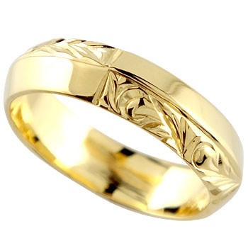ハワイアンジュエリー プラチナ リング 指輪 幅広