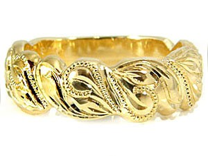 指輪ハワイアンリングK18