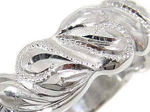 指輪ハワイアンリングK18WG