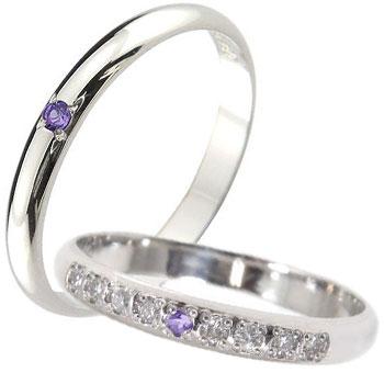 指輪 ガーネット ダイヤモンド ピンキーリング ホワイトゴールドk18【工房直販】