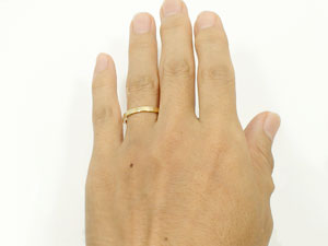 指輪イエローゴールドk18
