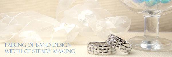 【送料無料・結婚指輪】ダイヤモンドペアリングホワイトゴールドK18☆2本セット☆指輪【工房直販】