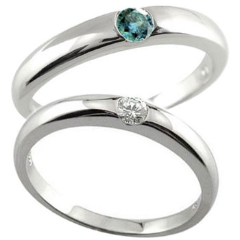 【送料無料・結婚指輪】ペアリング 結婚指輪 ダイヤモンド プラチナ 2本セット☆指輪【工房直販】