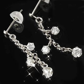 【送料無料】ダイヤモンド:ピアス:特別価格【工房直販】