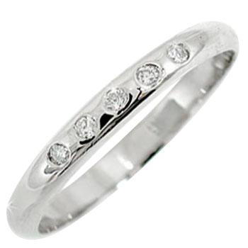 ピンキーリング:ダイヤモンド:リング:プラチナリング:指輪:ダイヤモンド:0.05ct:小指にお守りとして,送料無料,特別価格,工房直販
