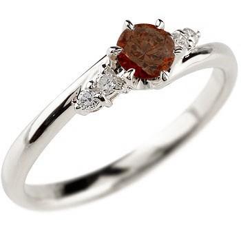 ティアラ プラチナ リング 指輪 ダイヤモンド アメジスト ミル打ち 2月誕生石