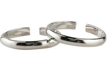 【送料無料】トゥリング:足の指輪:ホワイトゴールドK18:K18WG:特別価格【工房直販】