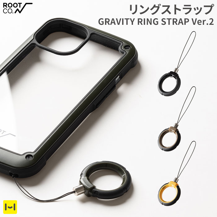 ROOT CO. GRAVITY RING STRAP.