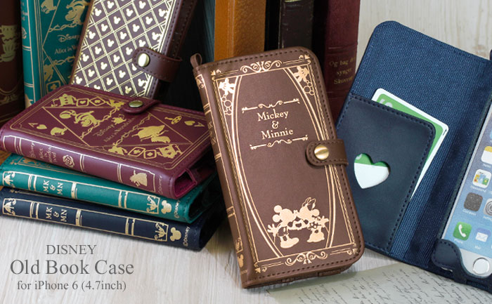 Old Book Case Disney Iphone : Hamee strapya rare cell phone accessories from japan at