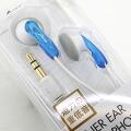 Basic inner headphones ♪ standard type earphone (clear blue)