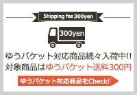 ゆうパケット送料300円