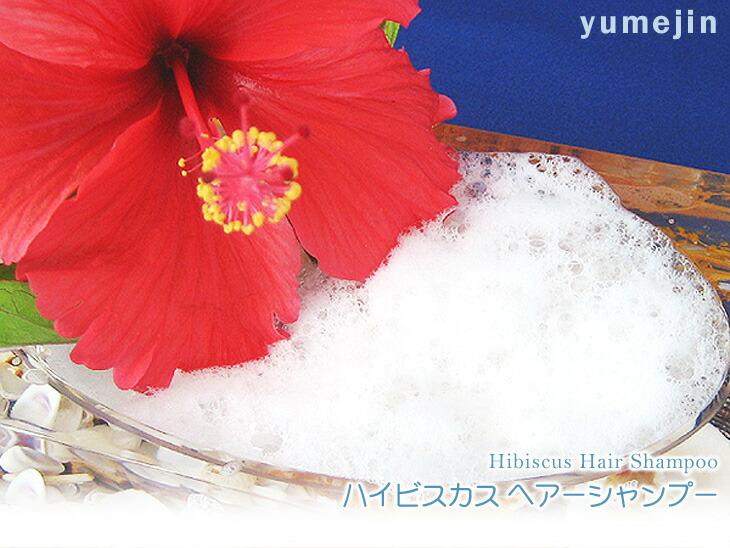 [Dream dust] hibiscus hair shampoo 300 ml (using the Okinawa from  hibiscus)-amino acid hibiscus shampoo non-additive │