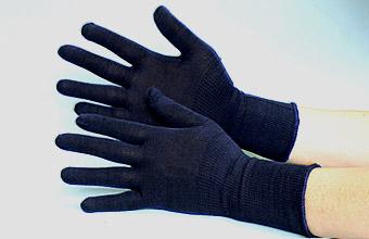 大好評の甲手下汗取り手袋。綿100%で吸汗性抜群!2組3組まとめて買うと更にお得な価格です!