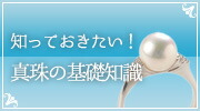 知っておきたい!真珠の基礎知識