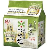 生鮮米 山形県産つや姫 1.5kg×4個セット