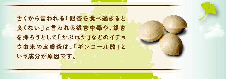 ギンコール酸