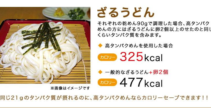 ケンミン食品株式会社 高タンパクめん メニュー1、2