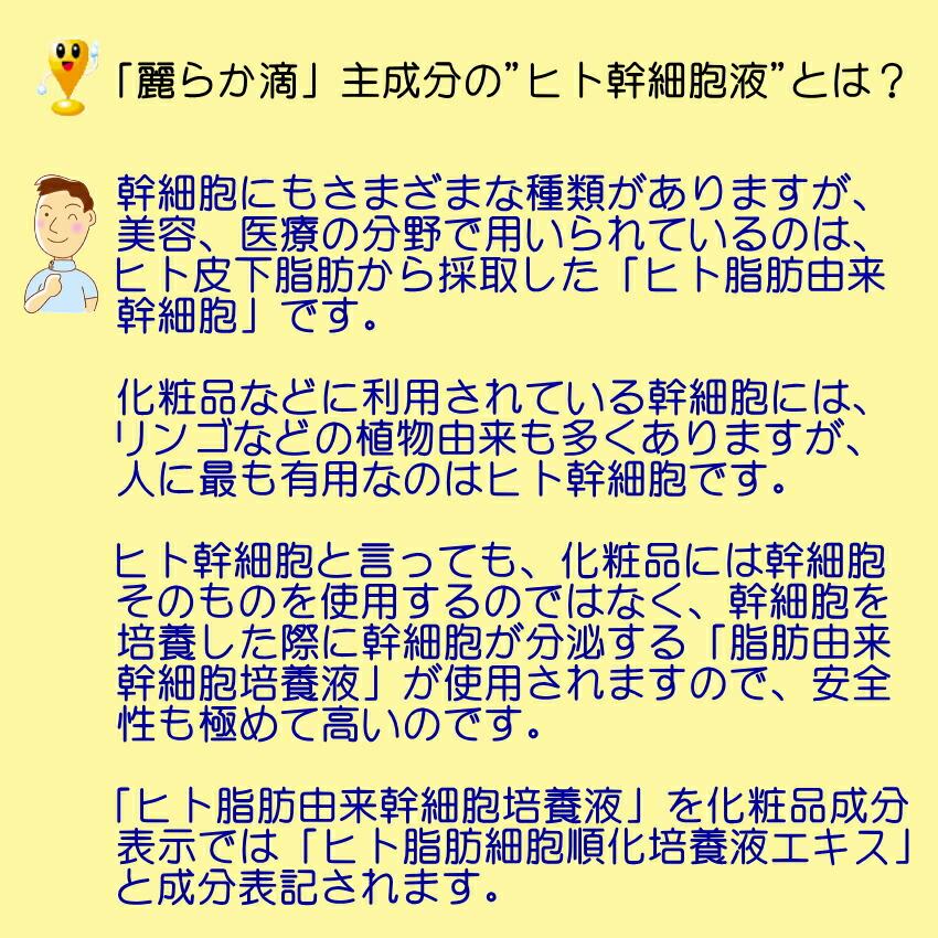 ヒト幹細胞+馬プラセンタ 美容液 SCCプレミアム エッセンス 麗らか滴04
