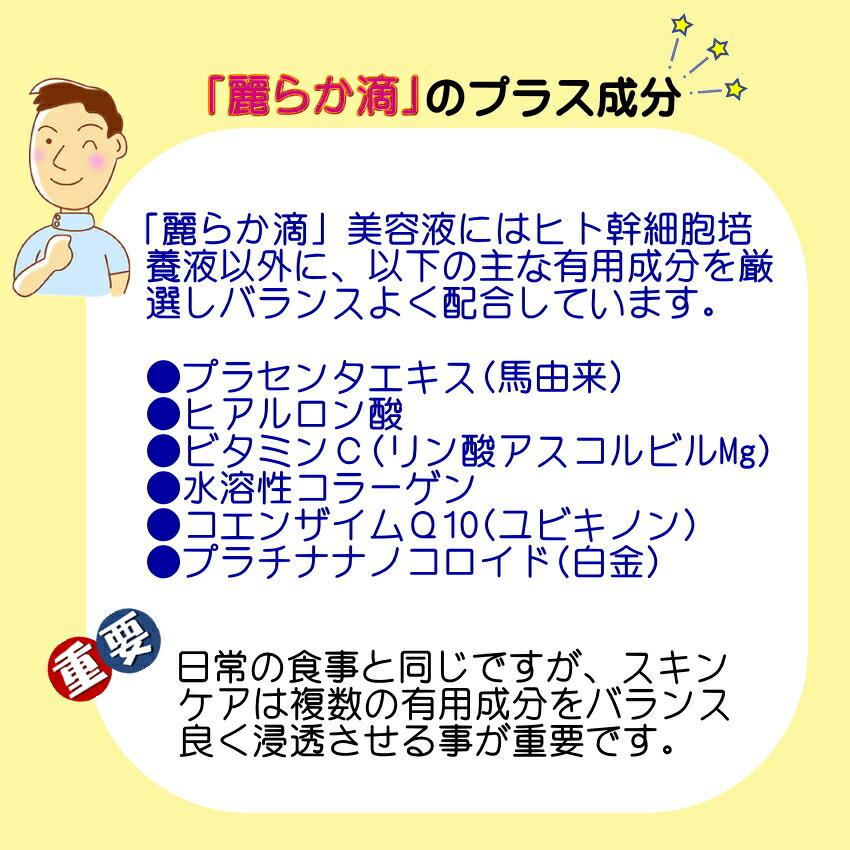 ヒト幹細胞+馬プラセンタ 美容液 SCCプレミアム エッセンス 麗らか滴05