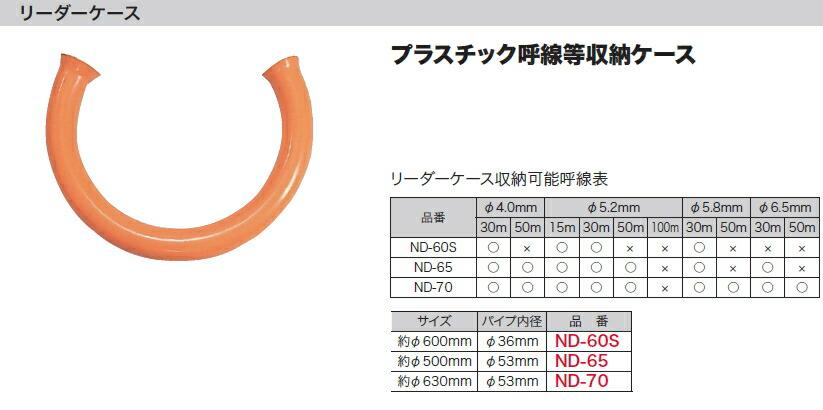 約φ630mm (デンサン/ジェフコム) リーダーケース DENSAN ND-70