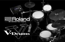 ナチュラルなサウンドと演奏性。電子ドラムと言えばやっぱり『Roland V-Drums』