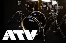 従来の電子ドラムとアコースティックドラムを隔てていた壁を取り去る『ATV aDrums』