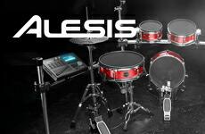 コストパフォーマンスに優れた電子ドラム『ALESIS』
