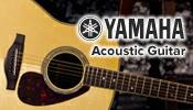 「やっぱりギターはヤマハ」信頼と安心のYAMAHAアコースティックギターはこちら!