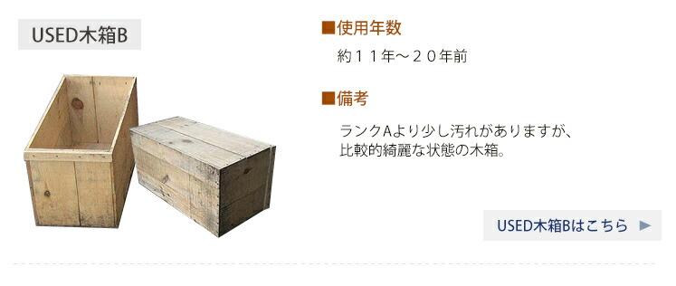 りんご木箱 USED木箱B