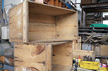 りんご木箱 USED木箱A