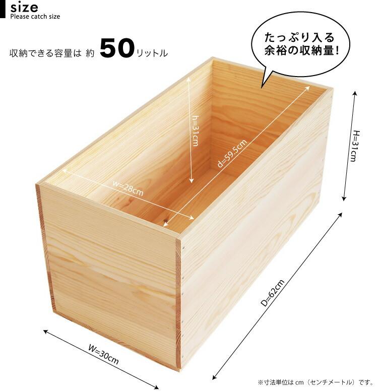 松 りんご箱 木箱 MB20KN【取手なし】