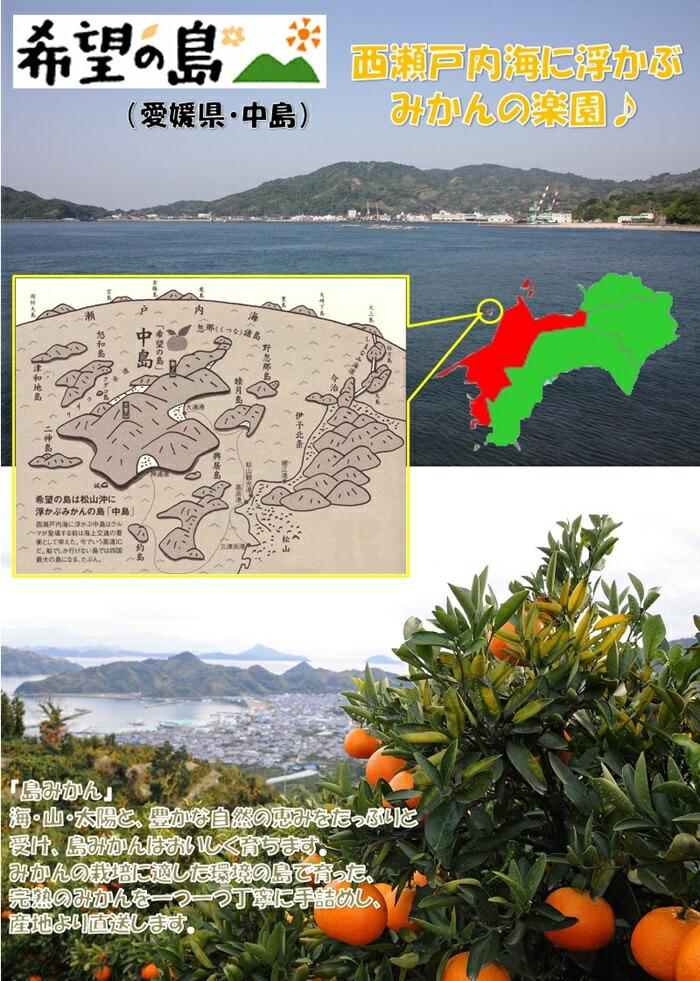 瀬戸内海愛媛中島希望の島
