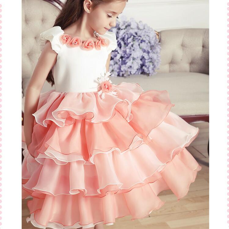 Kids Fashion Presentation Dress Formal Dress Girl Dress